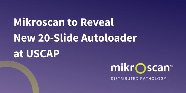 Mikroscan 20 slide Autoloader